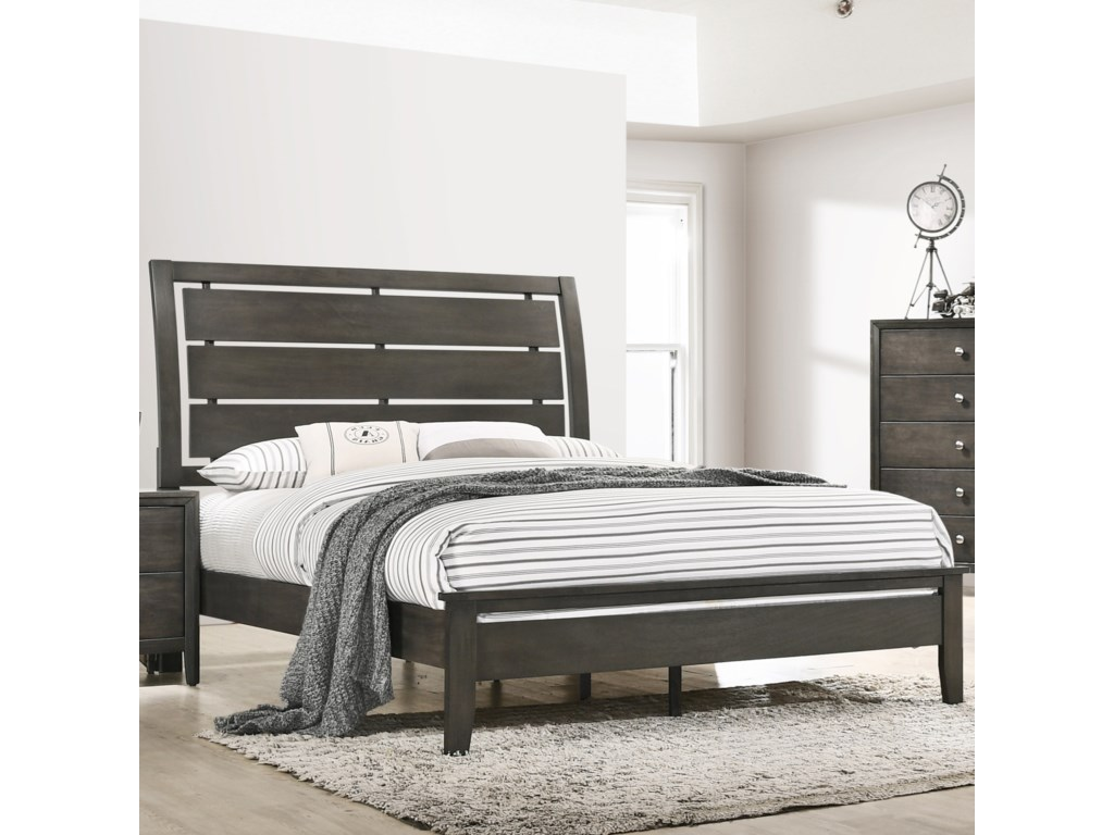 United Furniture Industries GrantKing Bed