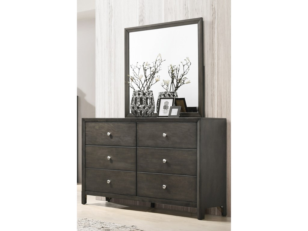 Lane Home Furnishings GrantDresser and Mirror Set