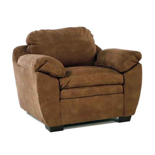 United Furniture Industries 9535 DC Casual Chair w/ Pillow Arm