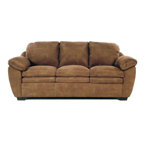 United Furniture Industries 9535 DC Casual Sofa w/ Pillow Arm