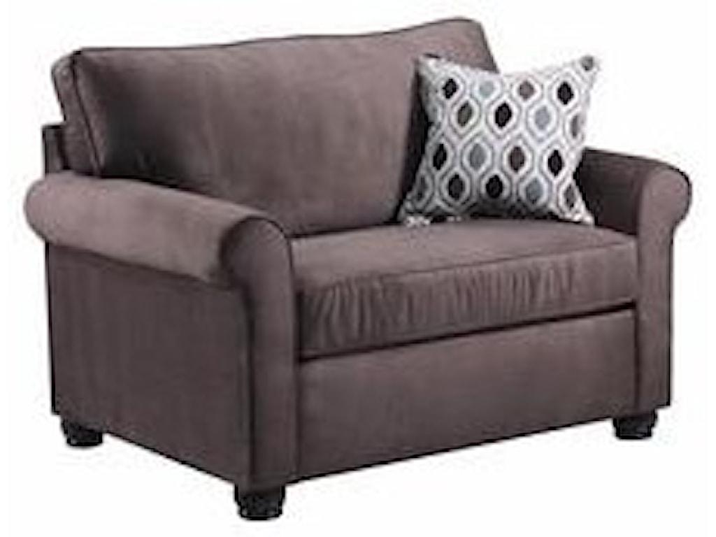 1530 Twin Sleeper Sofa by United Furniture Industries at Furniture Fair -  North Carolina