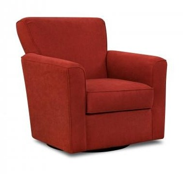 Simmons Upholstery 160Casual Swivel Glider Chair