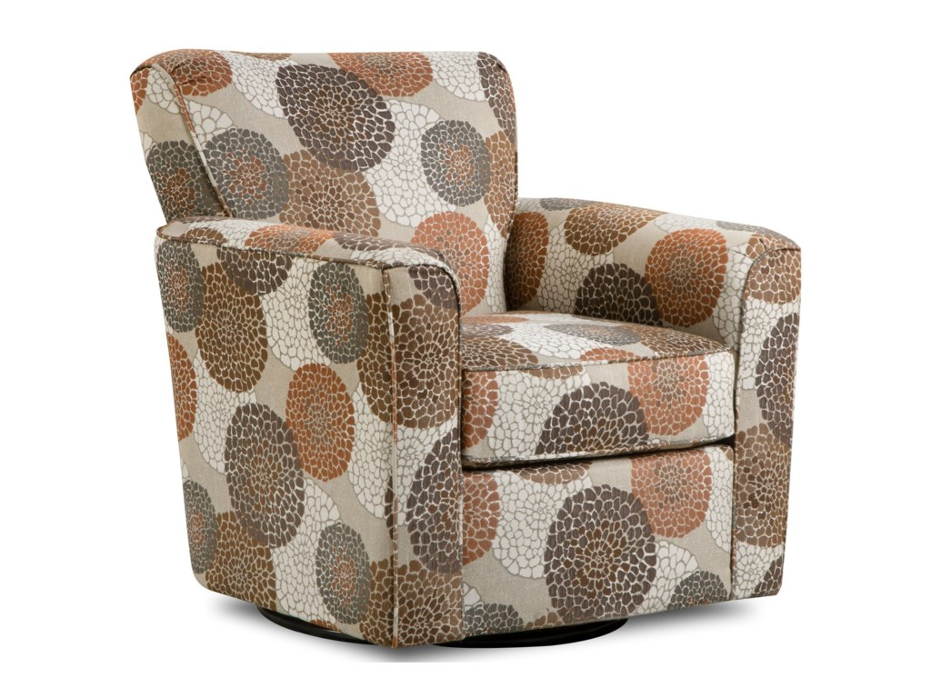 United Furniture Industries 160Casual Swivel Glider Chair