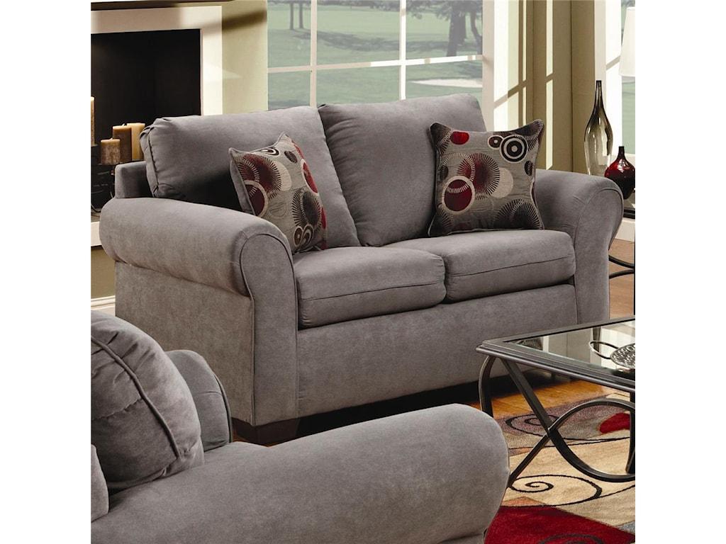 Simmons Upholstery 1640Loveseat