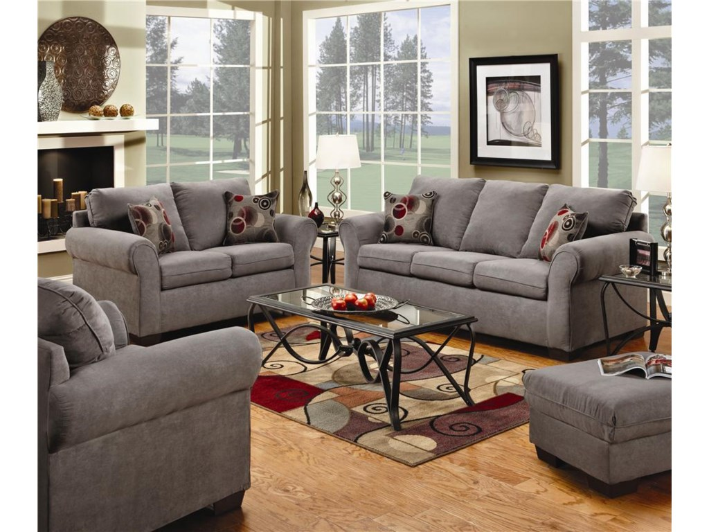 Simmons Upholstery 1640Loveseat