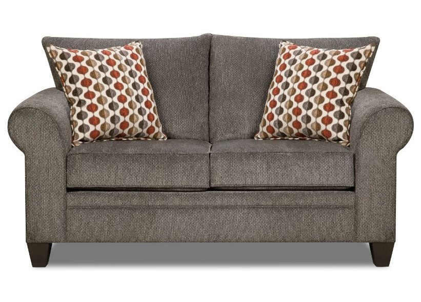 United Furniture Industries 1647Transitional Loveseat