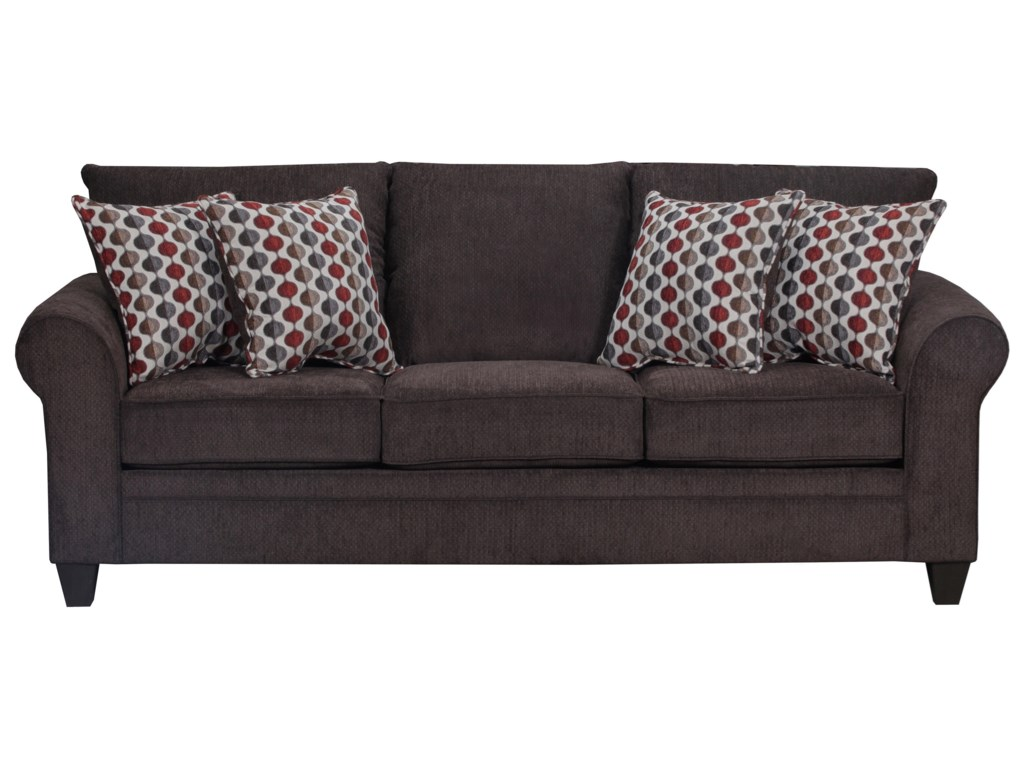Simmons Upholstery 1647Transitional Sofa