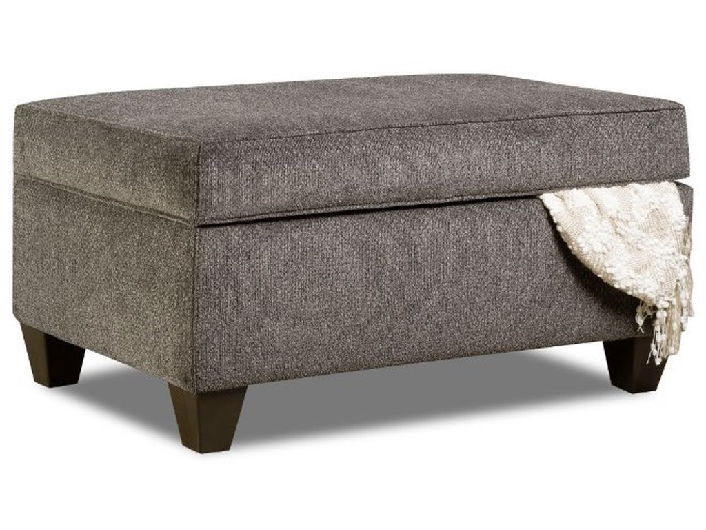 Simmons Upholstery 1647Transitional Storage Ottoman