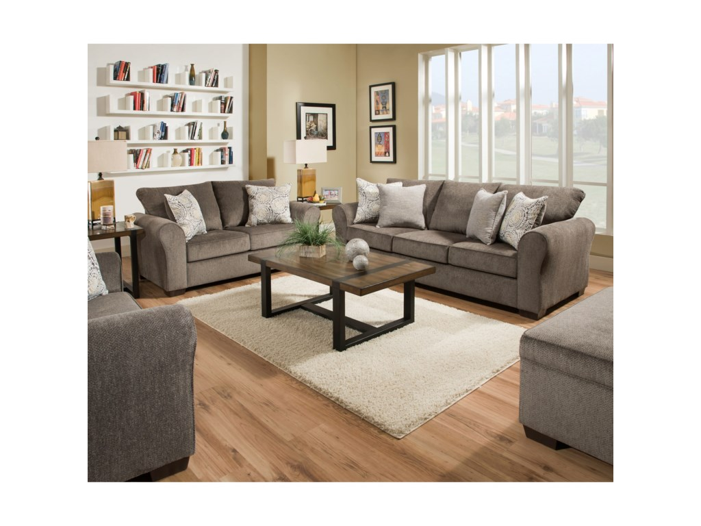 United Furniture Industries 1657 Living Room Group