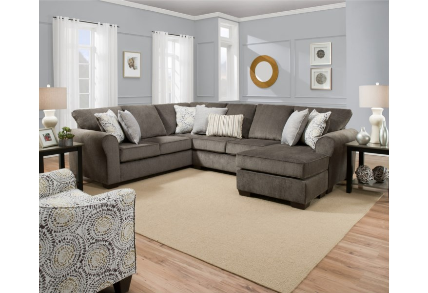 1657 Casual Sectional Sofa