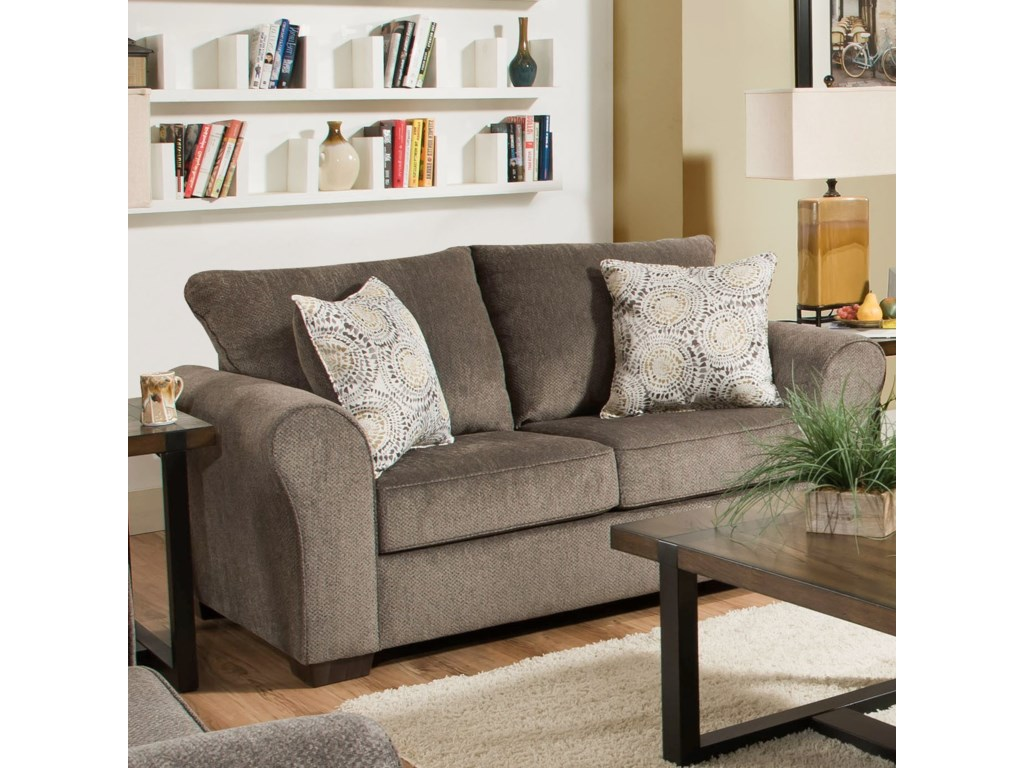 United Furniture Industries 1657 Love Seat