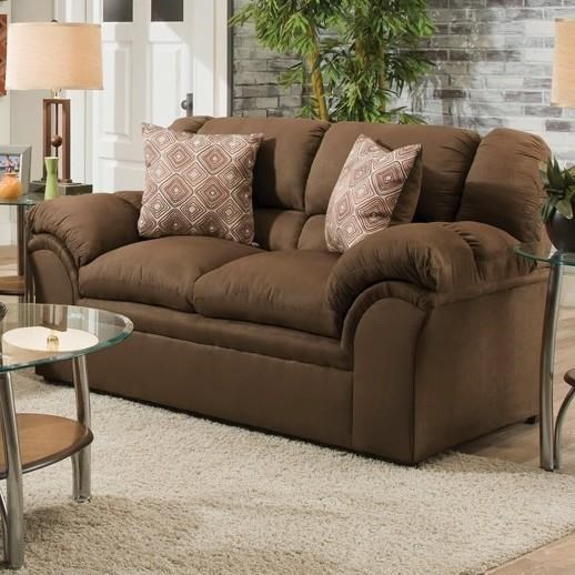Simmons Upholstery 1720 UnitedCasual Loveseat