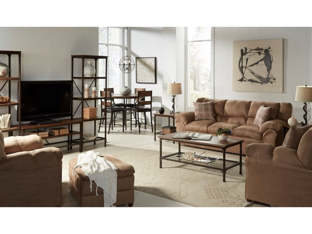 United Furniture Industries 1720 UnitedCasual Sofa