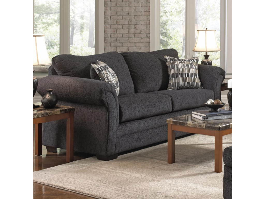 United Furniture Industries 2256Transitional Loveseat