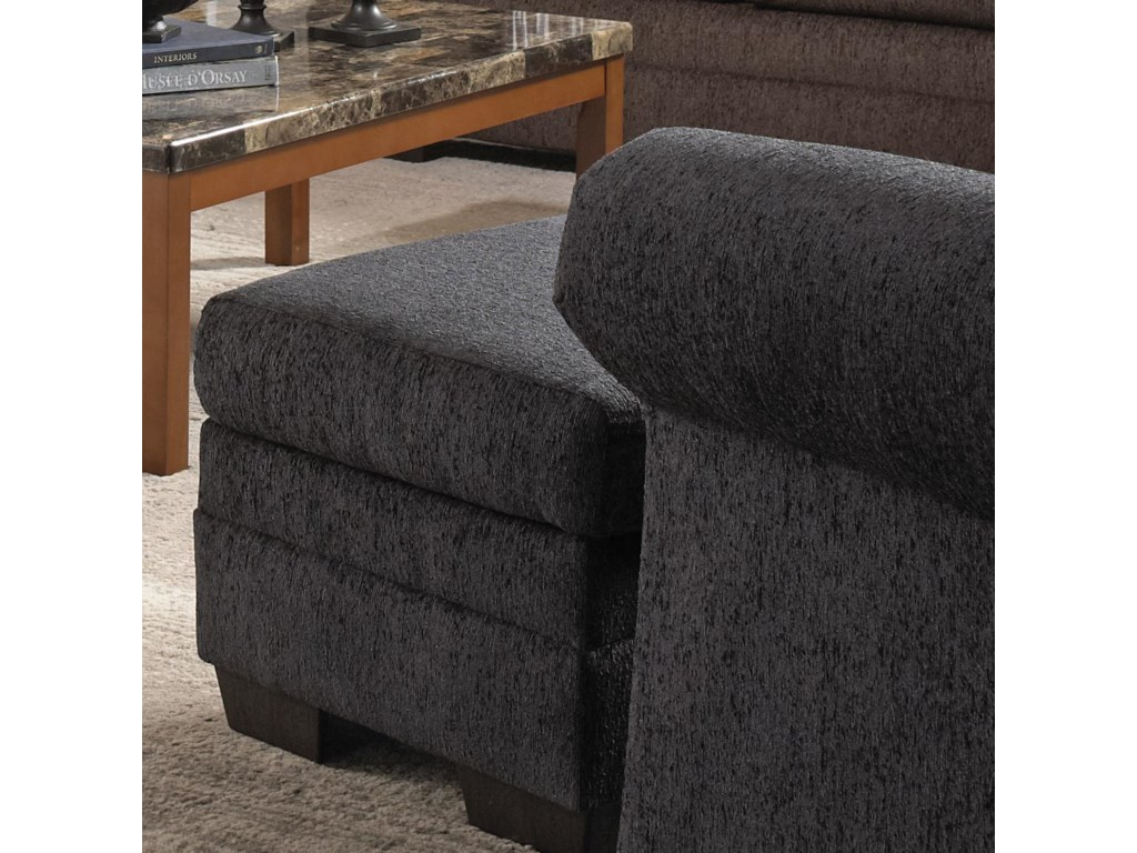 United Furniture Industries 2256Transitional Ottoman