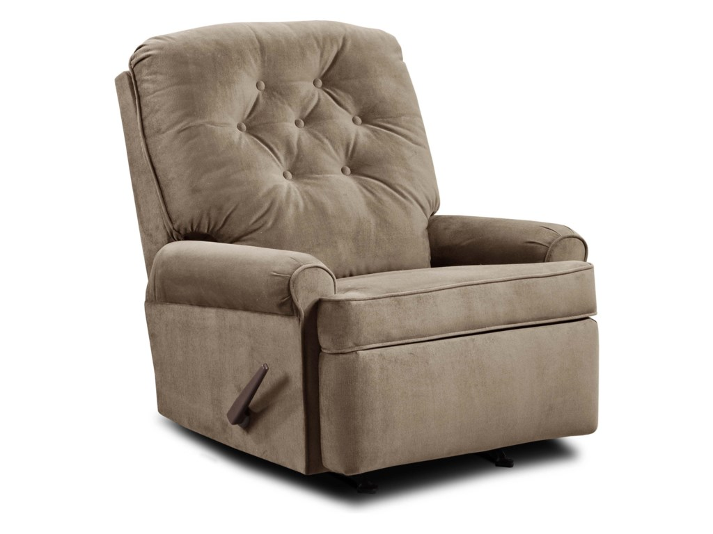 United Furniture Industries 241Transitional Rocker Recliner