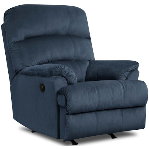 Umber LEE Casual Power Rocker Recliner