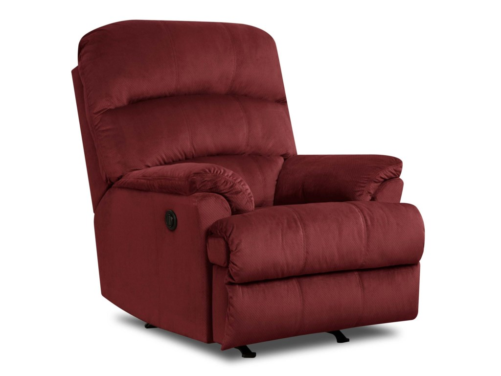 United Furniture Industries 271Casual Power Rocker Recliner