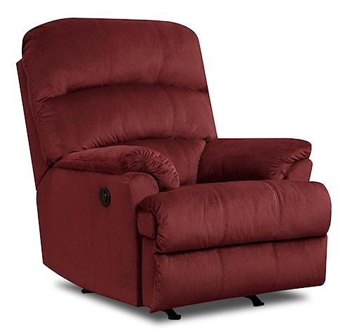 United Furniture Industries 271 Casual Rocker Recliner