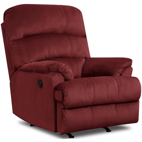 Umber LEE Casual Rocker Recliner