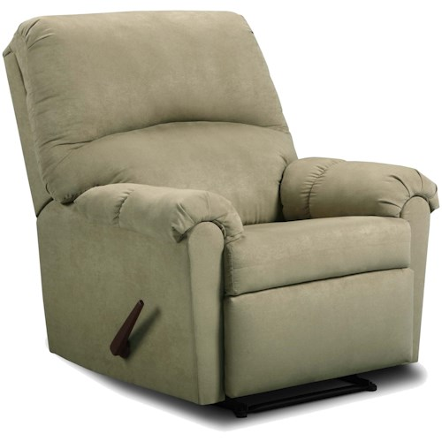 United Furniture Industries 275 Pub Back Style Recliner
