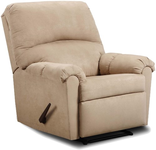 United Furniture Industries 275 Casual Pub Back Style Power Recliner