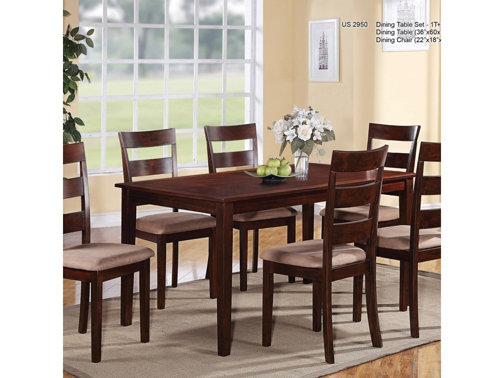 U.S. Furniture Inc 29507 Piece Dining Set