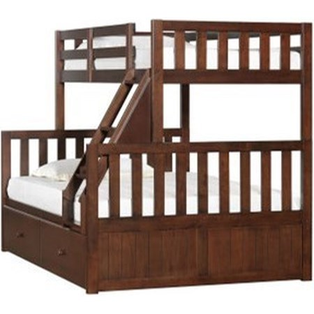 Youth Bunk Bed with Storage