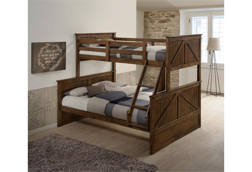 Ashland Twin Over Full Bunk Bed