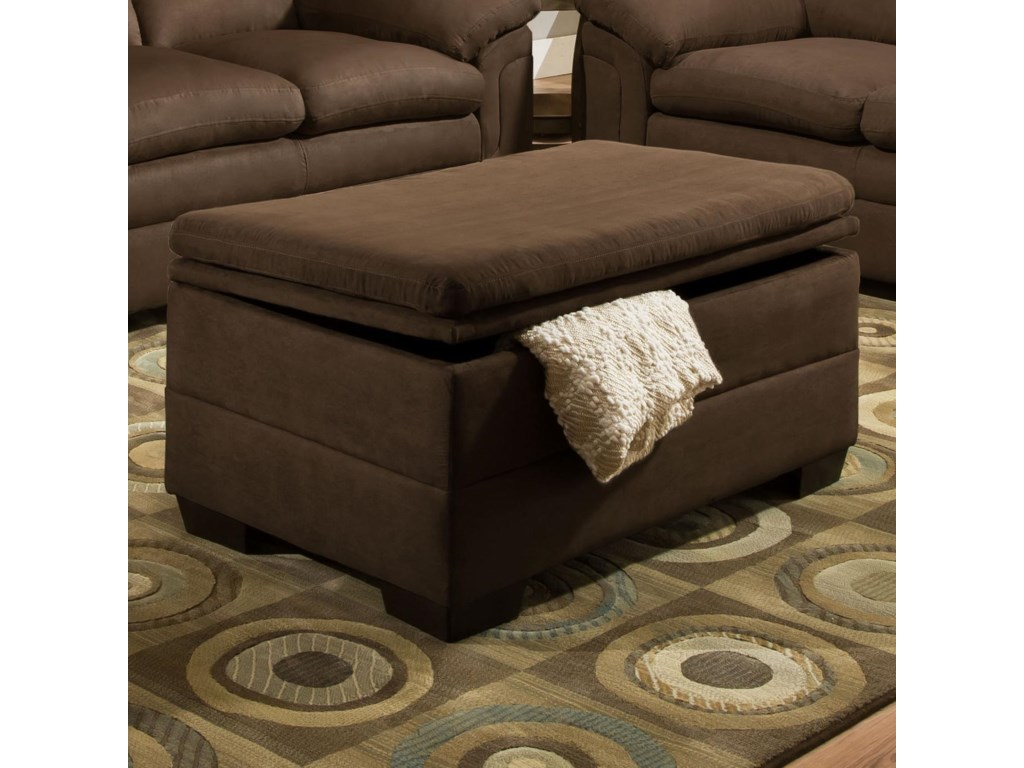 United Furniture Industries 3615Casual Storage Ottoman