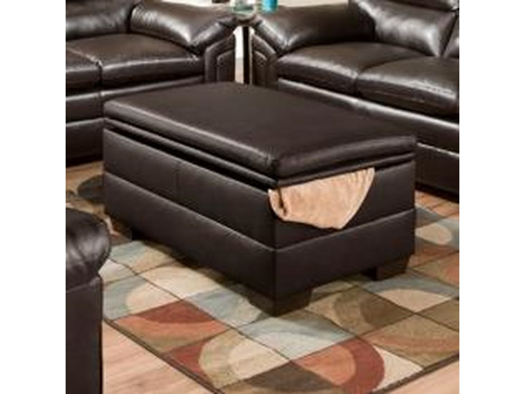 United Furniture Industries 3615Casual Storage Ottoman