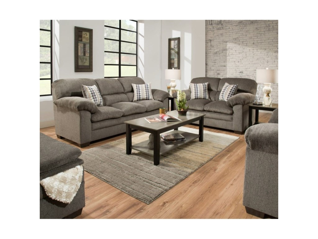United Furniture Industries 3683Love Seat