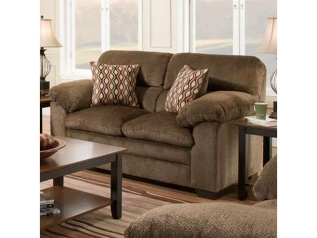 Simmons Upholstery 3683Loveseat