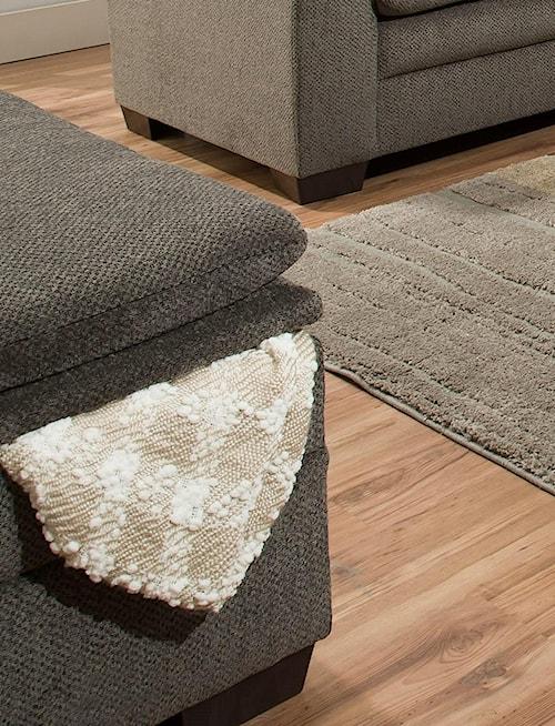 United Furniture Industries 3683 Ash Ottoman