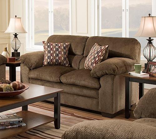 United Furniture Industries 3683 Loveseat
