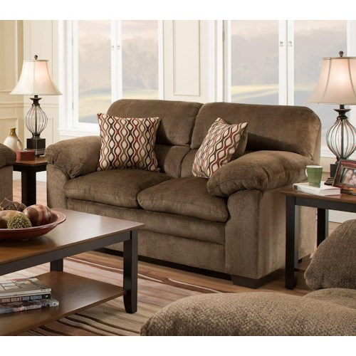 United Furniture Industries 3683 Loveseat