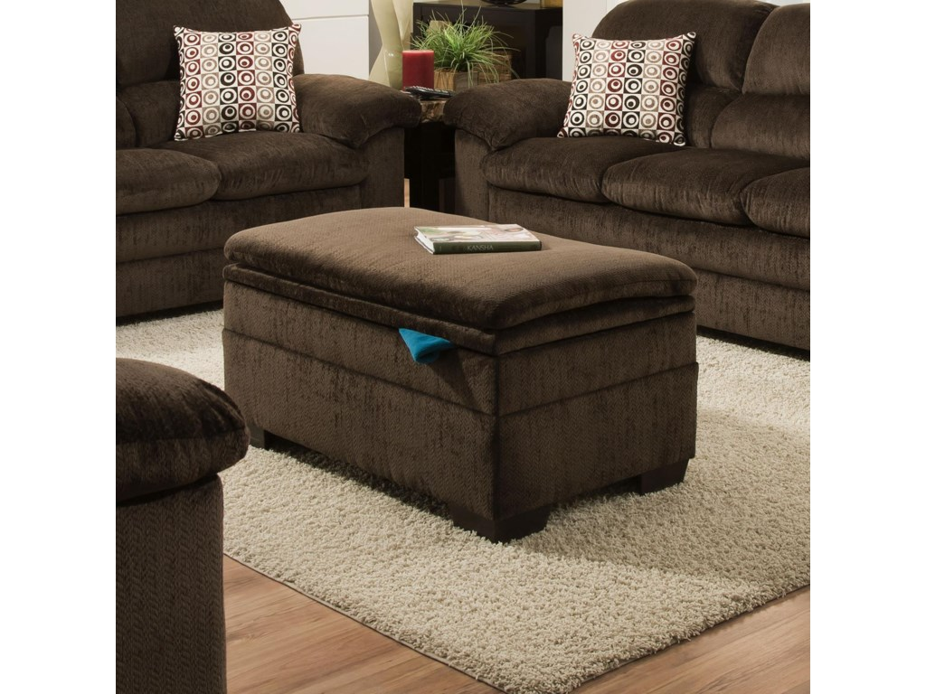 United Furniture Industries 3684Storage Ottoman