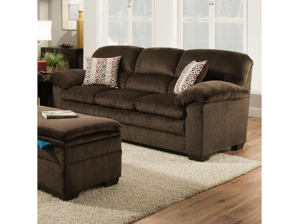 United Furniture Industries 3684Stationary Sofa