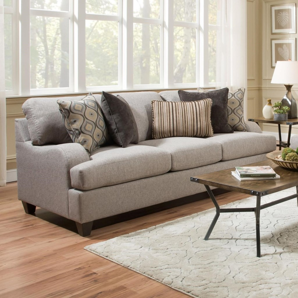 United Furniture Industries 4002 Transitional Sofa Darvin  ~ What Is A Transitional Sofa