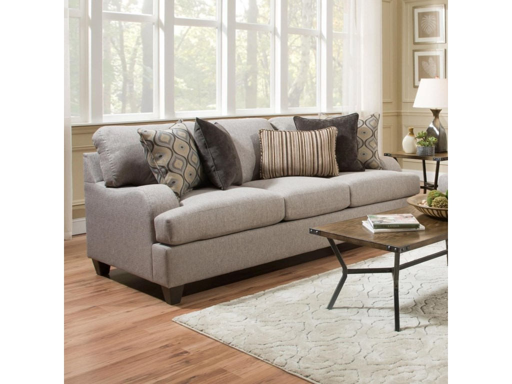 United Furniture Industries 4002Transitional Sofa