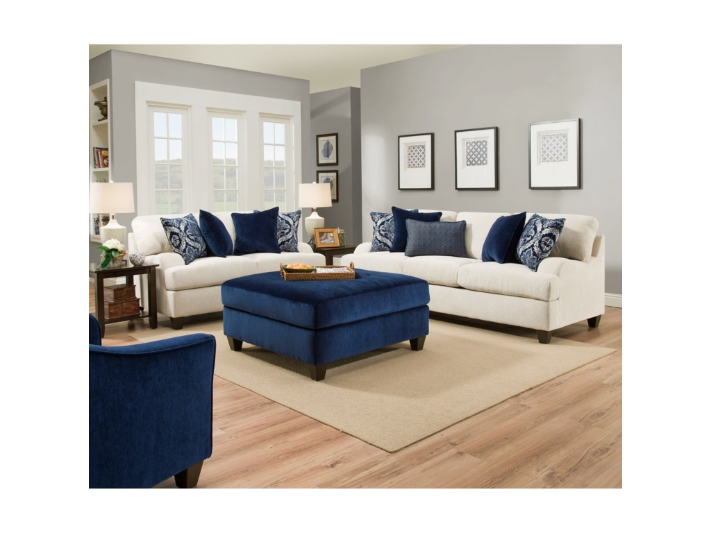 Lane Home Furnishings 4002Transitional Sofa
