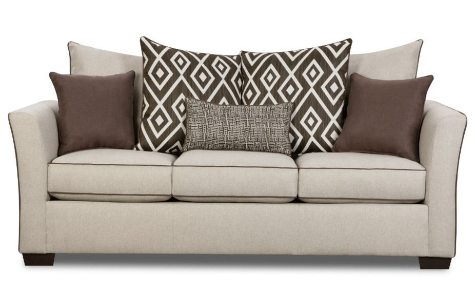 United Furniture Industries 4202Transitional Sleeper Sofa