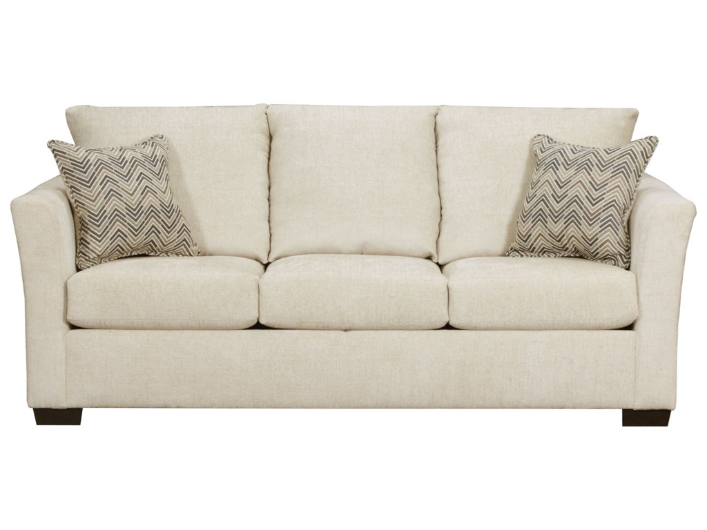 United Furniture Industries 4206Transitional Queen Sleeper Sofa
