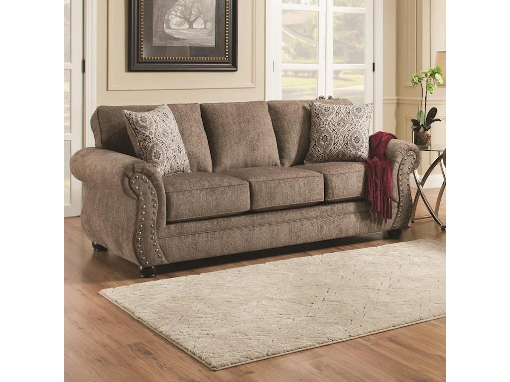 Simmons Upholstery 4253Sofa