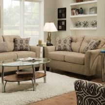 United Furniture Industries 4315Transitional Loveseat