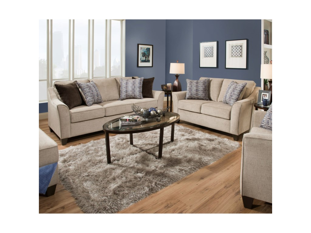 United Furniture Industries 4330Love Seat