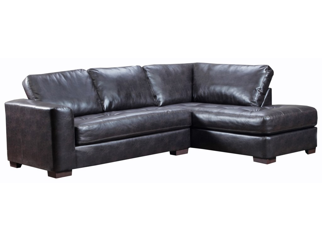 Simmons Upholstery 4558Sectional Sofa