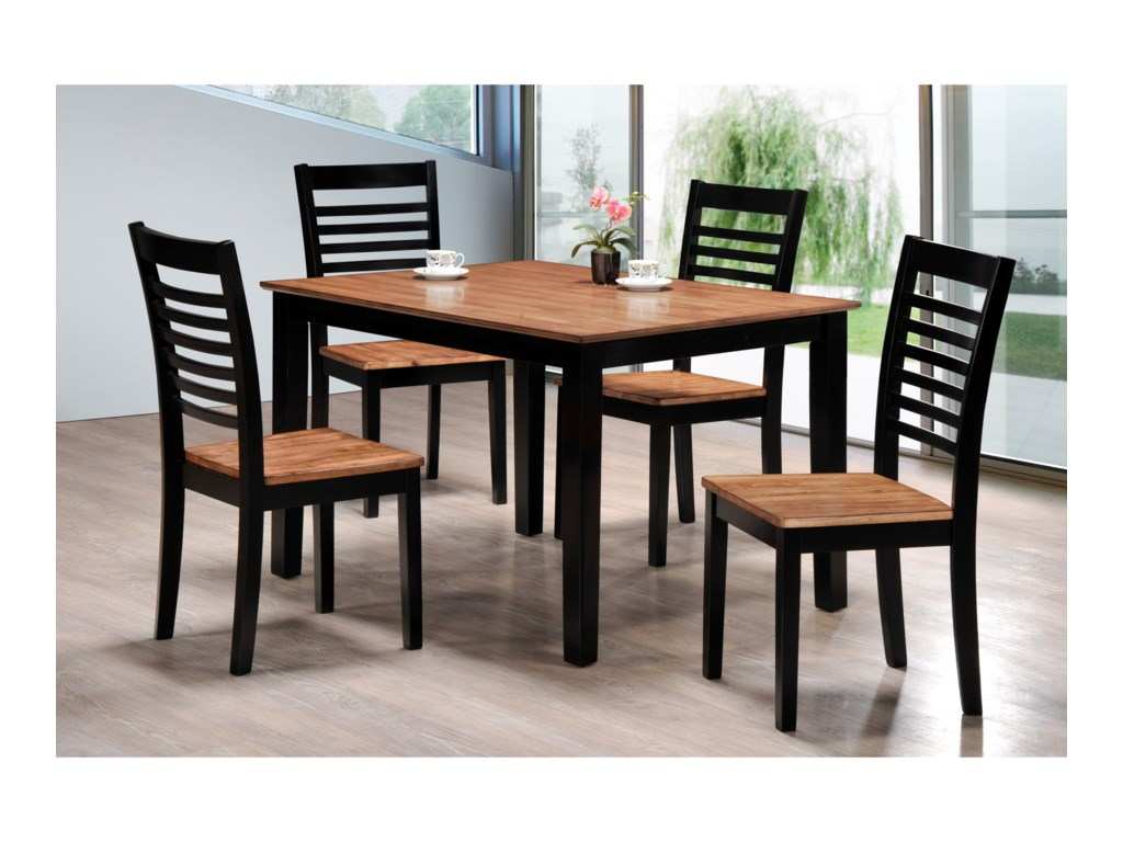 United Furniture Industries Key West5 Piece Table and Chair Set