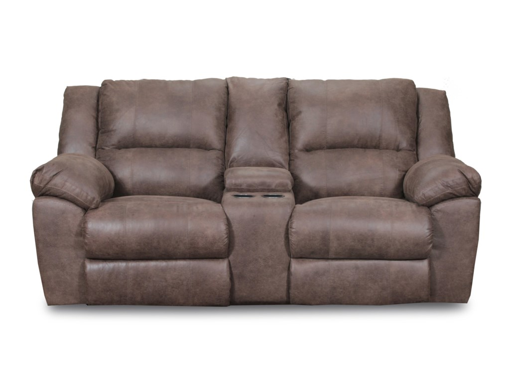 50111 Casual Double Motion Loveseat By Simmons Upholstery