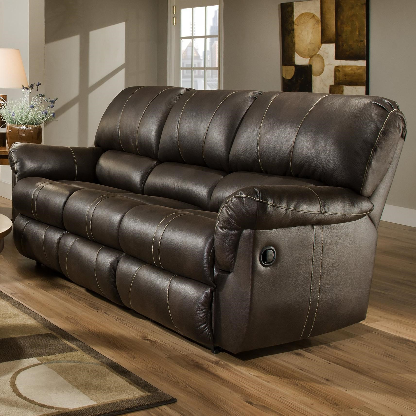 United Furniture Industries 50365Casual Power Double Motion Sofa
